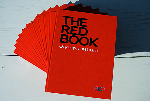 THE RED BOOK. OLYMPIC ALBUM